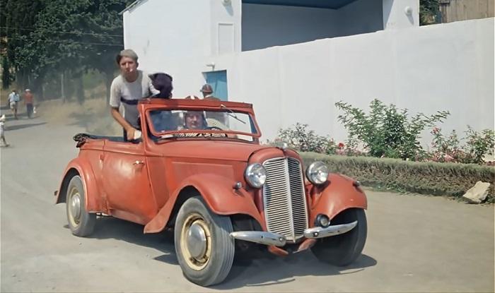 Машина из «Кавказской пленницы»/ Фото: globusks.ru