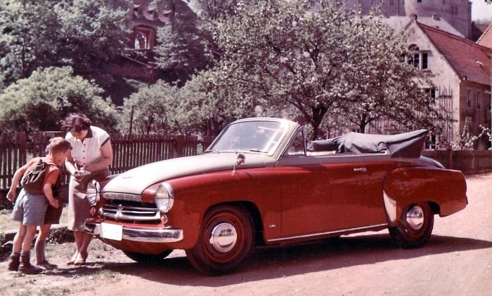 Wartburg-кабриолет – настоящий шик по советским меркам/ Фото: mdr.de