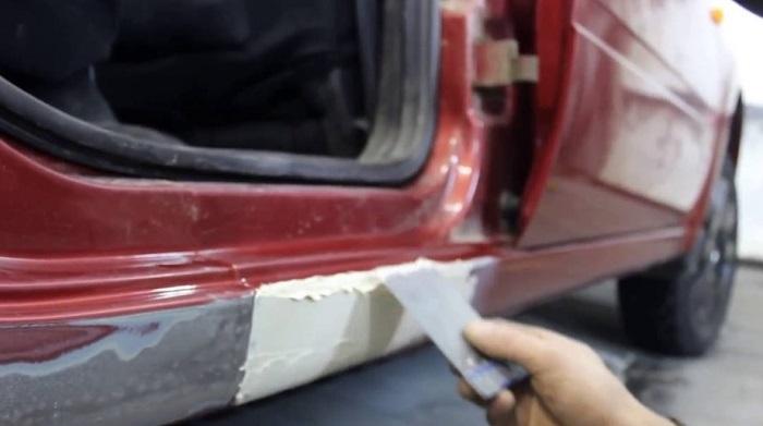 Борьба со ржавчиной на порогах автомобиля/ Фото:  hyser.com.ua