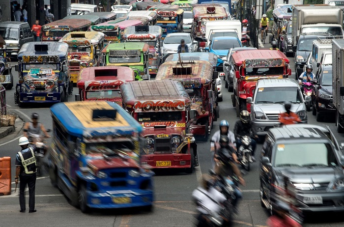 На улицах Манилы/ Фото: moya-planeta.ru