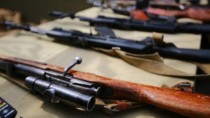 Перевозка и хранение больших партий оружия/ Фото: mir24.tv