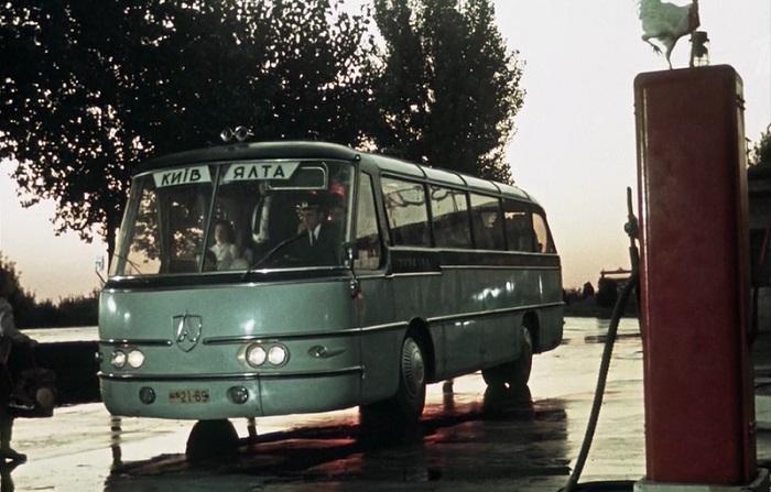 Автобус «ЛАЗ» в «Королеве бензоколонки»/ Фото: livejournal.com