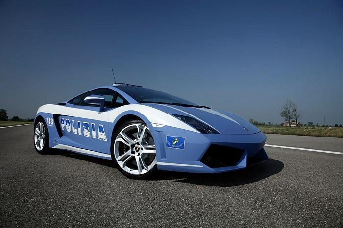 Ламборгини Галлардо для итальянских стражей порядка/ Фото: auto-tuning-news.com