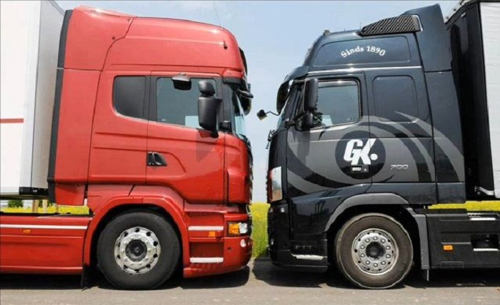 Scania vs Volvo/ Фото: therichest.com