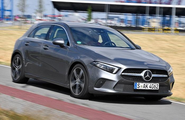 Mercedes A-класса с большим количеством алюминиевых элементов/ Фото: auto.danawa.com