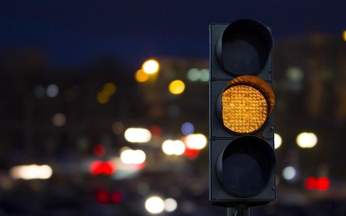 Светофоры ночью переходят на особый режим работы/ Фото: vc-magazin.de