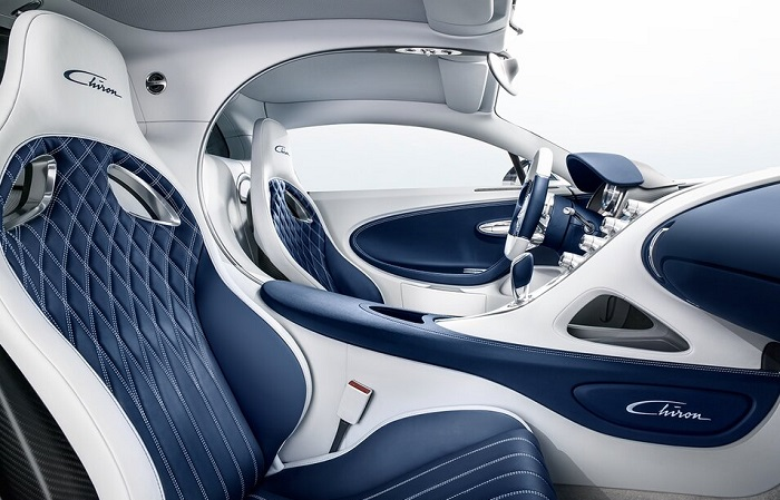«Салон будущего» Bugatti Chiron/ Фото: bugatti.com