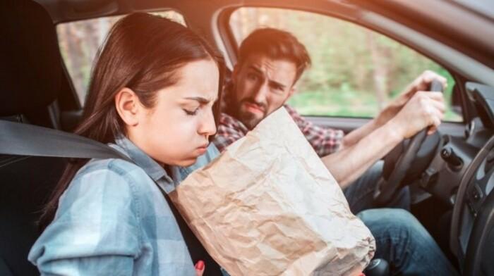 Укачивание в машине – весьма неприятное ощущение.