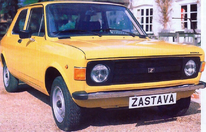 Zastava 101 – автомобиль, собранный на базе Фиата/ Фото: mdr.de