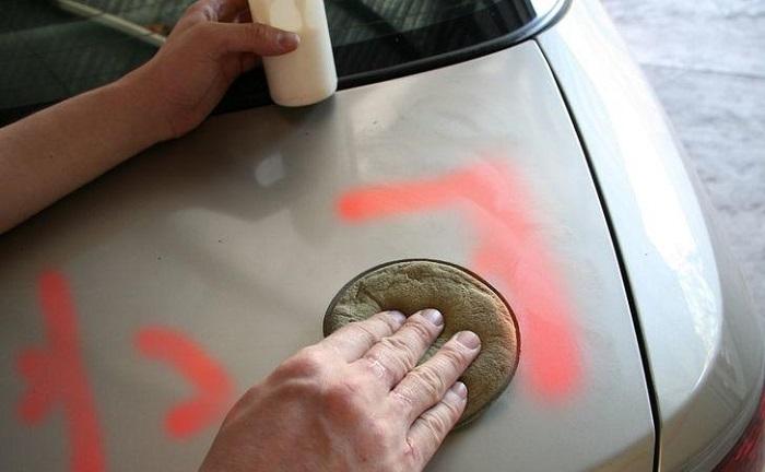 Чем и как снимать краску с кузова машины/ Фото: asx-club.su
