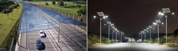 Дороги на солнечных батареях/ Фото: interestingengineering.com
