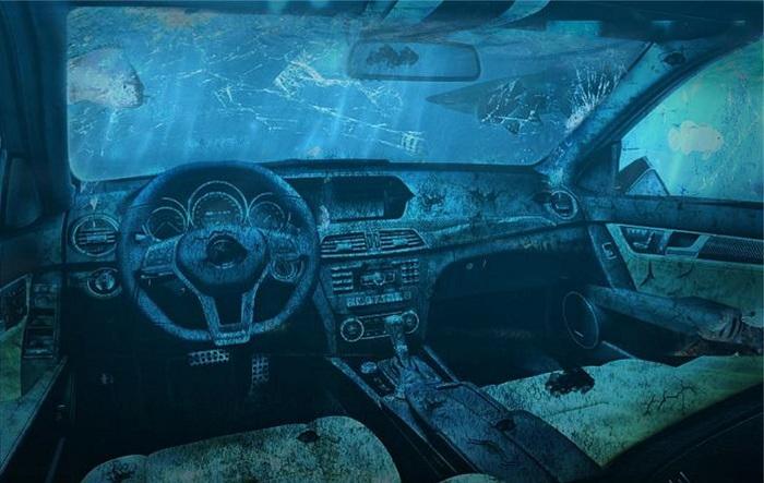 Что еще может указать на то, что перед нами – утопленный автомобиль?/ Фото: portaloko.hr