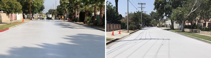 Белые дороги в Лос-Анджелесе/ Фото: theb1m.com