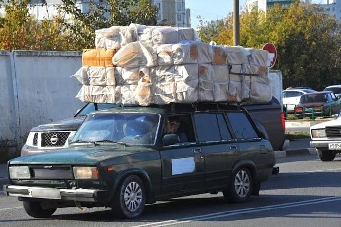 Перегруз автомобиля может быть опасен/ Фото: driver-helper.ru