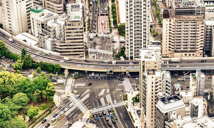 Разветвленная сеть японских дорог/ Фото: idaoffice.org