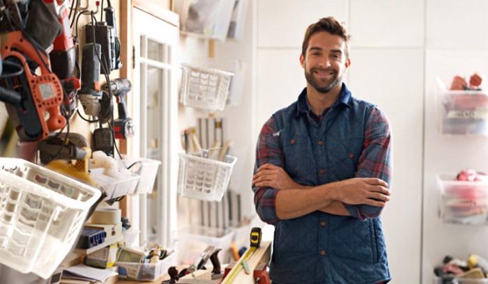 Гараж может стать уютным уголком для креатива и уединения/ Фото: keeeper.com
