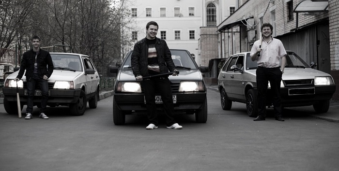 9-й ВАЗ на бандитской «разборке»/ Фото: yaplakal.com