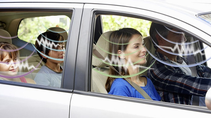 Отсутствие шума в салоне машины.
