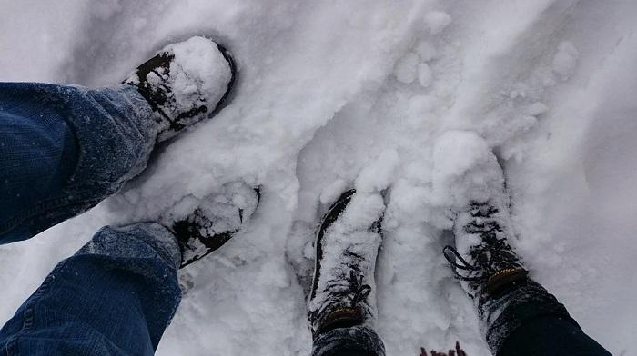 Перед тем, как сесть в машину, снег с обуви лучше отряхивать/ Фото: pixabay.com