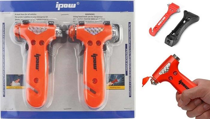 Инструменты для эвакуации из машины в чрезвычайной ситуации/ Фото: motor-junkie.com