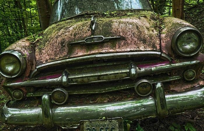 Ржавеющие на лоне природы машины привлекают любителей старины/ Фото: pixabay.com