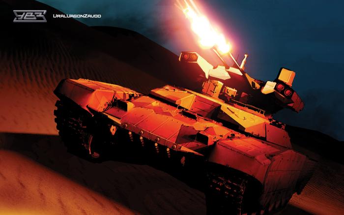 Боевая машина поддержки танков БМПТ-72, неофициальное название «Терминатор».