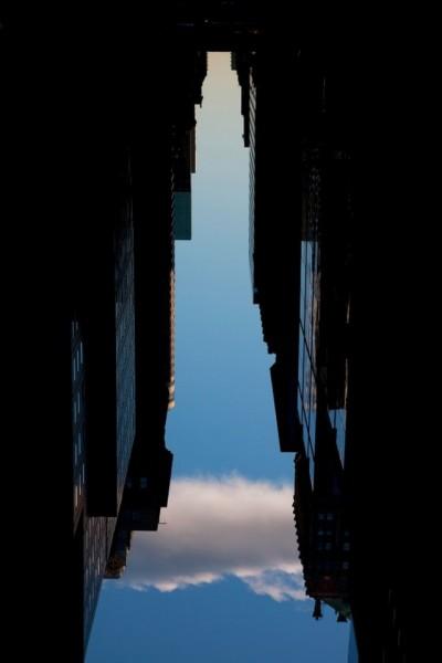 Здания, созданные из неба: фантастический арт-проект о Нью-Йорке