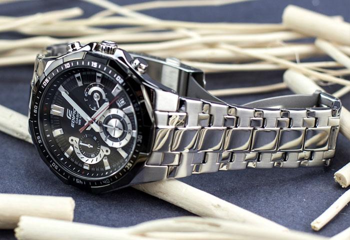 Мужские наручные часы Casio Edifice Chronograph EFR-554D-1A