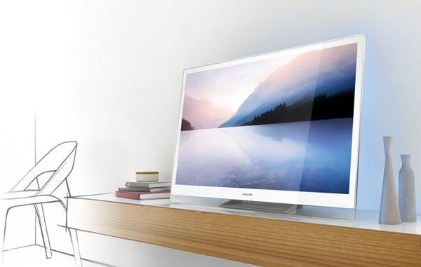 Дизайнерские элегантные телевизоры Philips DesignLine