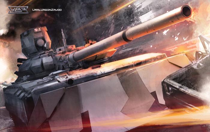 Модернизированный танк Т-72