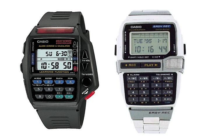 Винтажные наручные часы Casio из 1980-x.