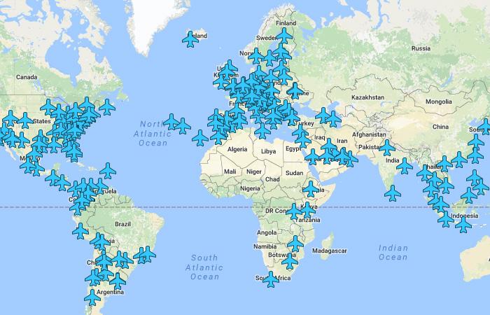 Бесценное сокровище для путешественника: все пароли Wi-Fi аэропортов мира на одной карте