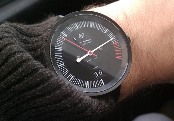 Дизайнерские часы Autodromo