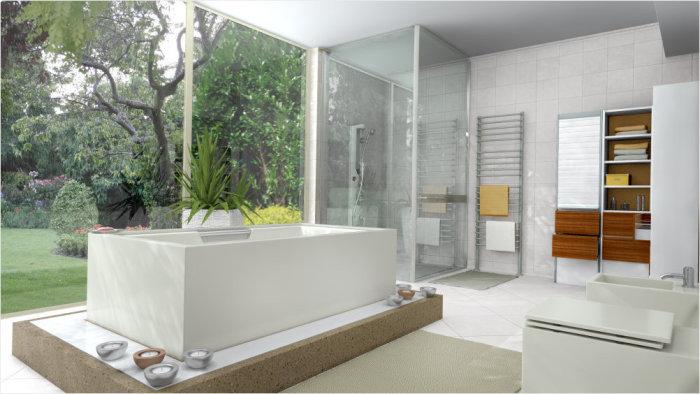 10 способов оптимально использовать пространство ванной комнаты.