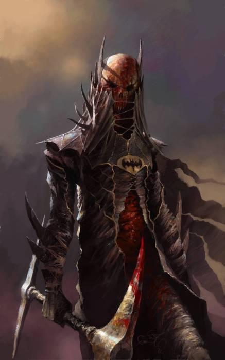 Бэтмен из потустороннего мира.