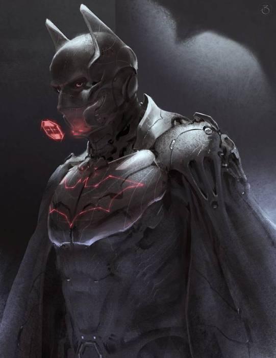 Бэтмен из будущего.