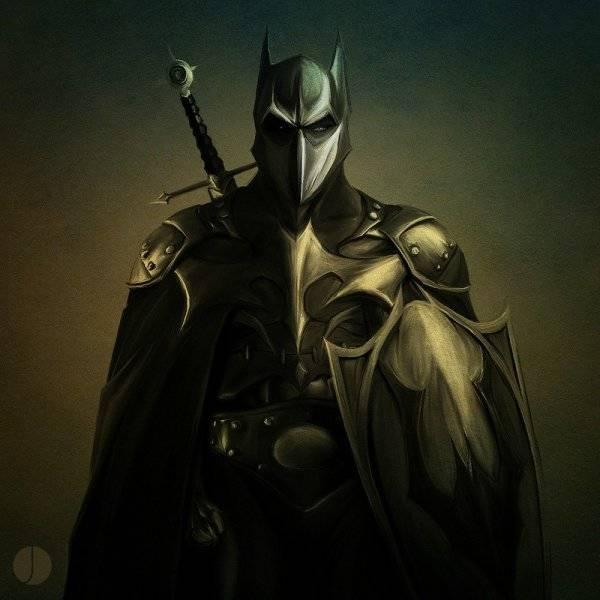 Бэтмен - Темный рыцарь из ренессанса.