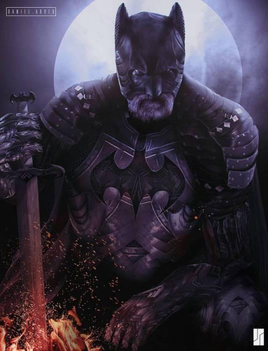 Средневековый Бэтмен.