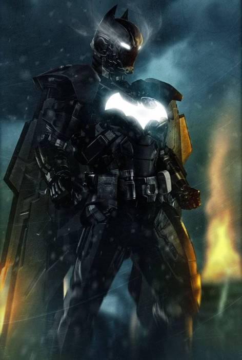 Бэтмен - Железный человек.