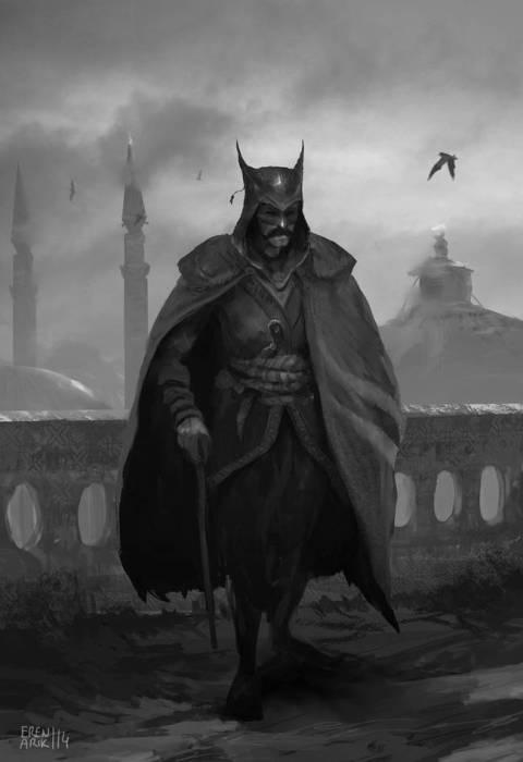 Бэтмен - Боярский.