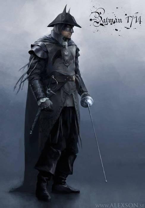 Бэтмен из французской революции.