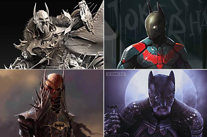 Как мог бы выглядеть Бэтмен