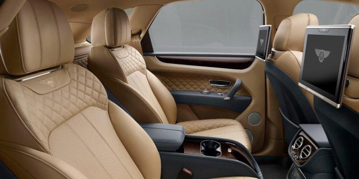 Bentley Bentayga - это комфорт.