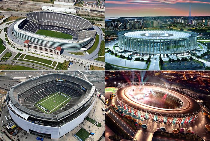 13 самых дорогих спортивных объектов на планете