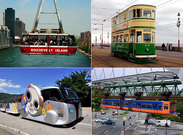 Обзор самых необычных трамваев со всего мира