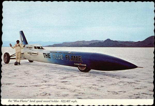 Автомобиль «The Blue Flame»