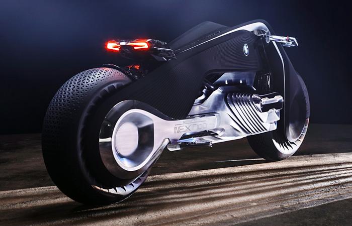 BMW Motorrad Vision Next 100: самый красивый и футуристичный мотоцикл 2016 года.