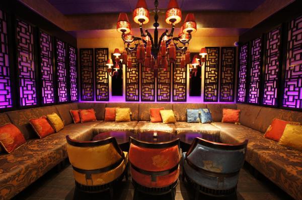 Арт-интерьер ресторана Buddha-Bar