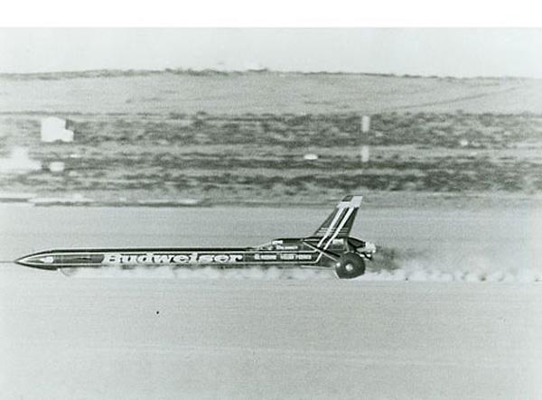 Budweiser Rocket Car