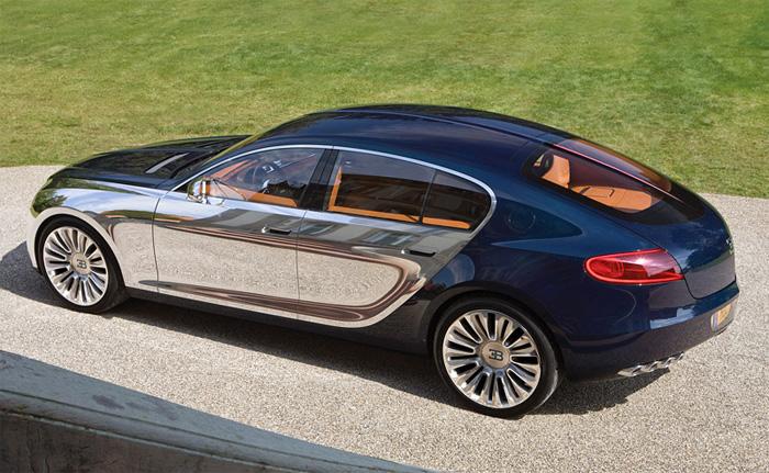 Bugatti Galibier 16C: стиль и мощь.